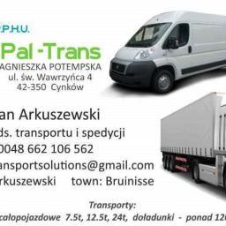 PAL-TRANS - Transport Ciężarowy Cynków