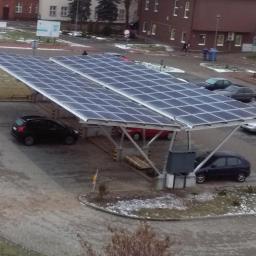 Carport samochodowy 25 kWp