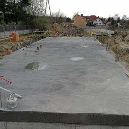Ornontowice - płyta fundamentowa betonowanie 2018r