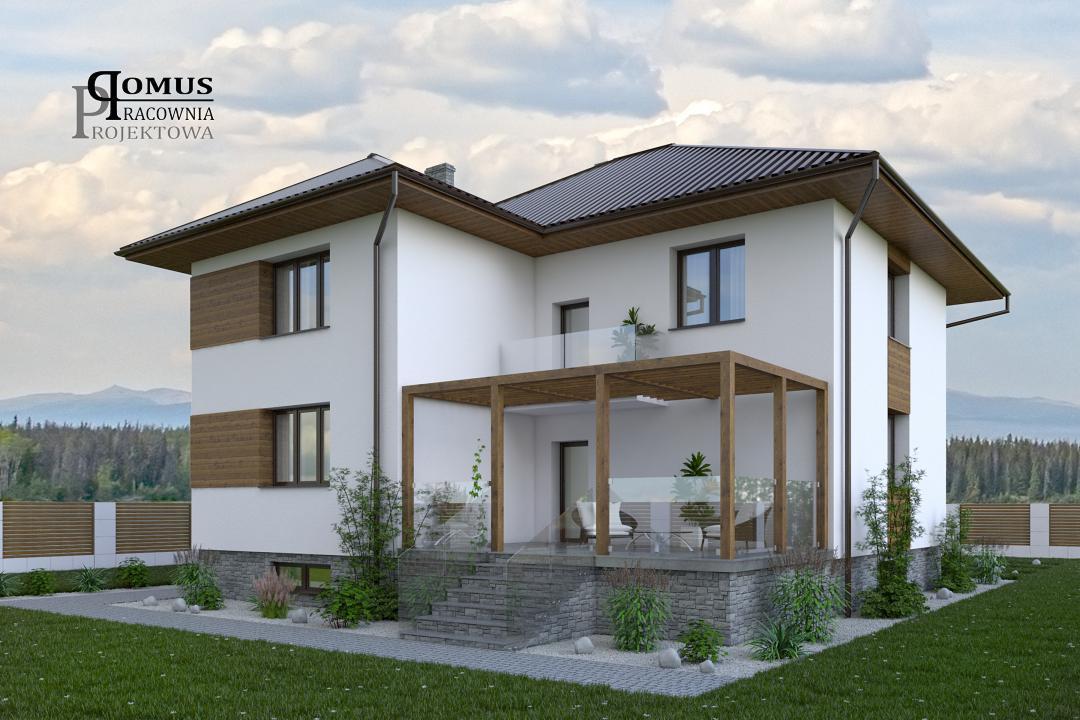 Zlecę Wykonanie Projektu Elewacji Domu Jednorodzinnego Oświęcim