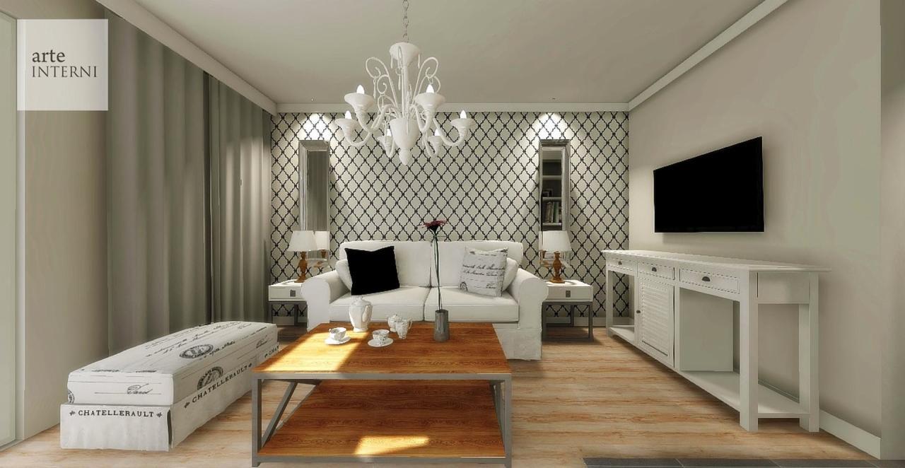 Zlecę Wykonanie Projektu Aranżacji Salonu I Kuchni 28m2