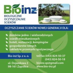 Bio-Inż - Przetwarzanie odpadów Zapolice
