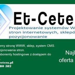 Et-Cetera Łukasz Jojczyk - Bazy danych Łódź