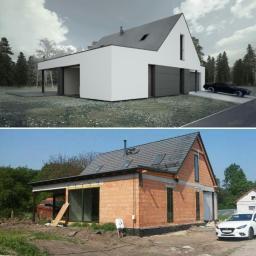 Pracownia architektury Dawid Pyka - Projekty domów Jemielnica
