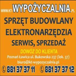 KT Wypożyczalnia Sprzętu Remontowo-Budowlanego - Narzędzia Poznań