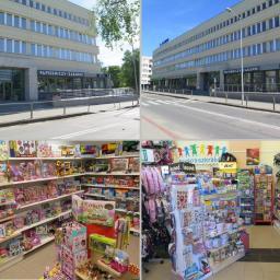 Artykuły papiernicze, akcydensowe, sklep z zabawkami i z grami dla dzieci - PAPERINO - Kołobrzeska 13 Olsztyn