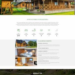 Strona internetowa z formularzem rezerwacji domku