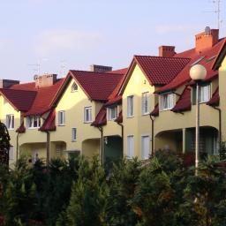 Budynki szeregowe w Zielonej Górze