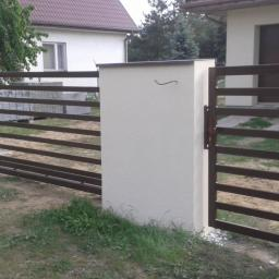 Unispaw - Ogrodzenia kute Brudzeń Duży