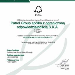Patrol Group Spółka z ograniczoną odpowiedzialnością S.K.A. - Meble Drewniane Kraków