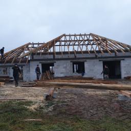 Cieśla Konstrukcje drewniane dachy itp... - Tynki maszynowe Rokiciny