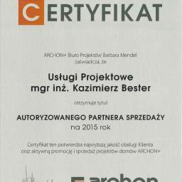 Usługi Projektowe Mgr Inż Bester Kazimierz - Projekty Domów Łańcut