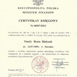 Kancelaria Prawa Podatkowego i Rachunkowości Beata Marczak - Firma audytorska Sieradz