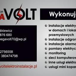 Mega volt Elektroinstalacje Kamil Miśkiewicz - Usługi Prawne Daleszyce