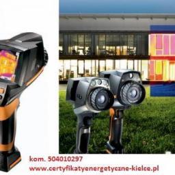 Termowizja - pomiary termowizyjne - Ocieplanie budynków Kielce