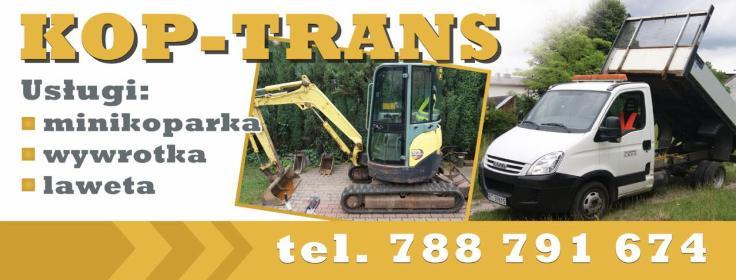 Kop-Trans Usługi Minikoparka - Roboty ziemne Tarnobrzeg