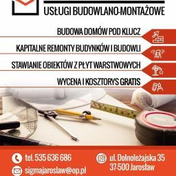 SIGMA - Mycie elewacji Jarosław