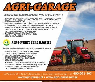 Agro-Punkt Zbrosławice Michael Nier - Odśnieżanie Zbrosławice