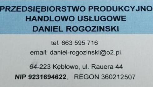 PPHU Daniel Rogozinski - Usługi Wolsztyn