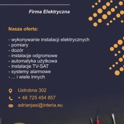Firma Elektryczna AC.DC Adrian Jasiński - Energia Odnawialna Ustrobna