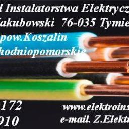 Zakład Instalatorstwa Elektrycznego Ryszard Jakbubowski - Oświetlenie Salonu Tymień