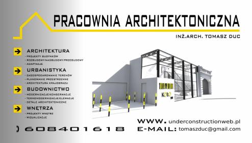 Pracownia Architektoniczna inż.arch. Tomasz Duc - Nadzór Budowlany Żywiec