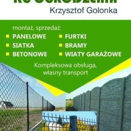 Krzysztof Golonka - Ogrodzenia betonowe Niegoszów
