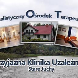 """Specjalistyczny Ośrodek Terapeutyczny """"Terapia Stare Juchy"""" Sp. z o.o - Terapia uzależnień Stare Juchy"""