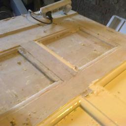 Renowacja starych okien framug i drzwi-GREY - Naprawa okien Orneta