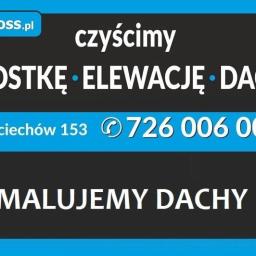 Quoss usługi specjalistycznego czyszczenia Agnieszak Sidor - Alpinista Przemysłowy Wojciechów