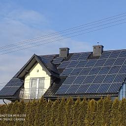 Solar House Marcin Piechota - Kolektory słoneczne Tuszów Narodowy