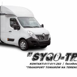 Firma transportowa SYGO-TRANS - Przeprowadzki Wiadrowo