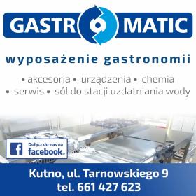 GASTROMATIC - wyposażenie i serwis gastronomii - Wypożyczanie sprzętu gastronomicznego Kutno