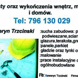 Seweryn Trzcinski firma Ogolnobudowlana - Tapetowanie Walim