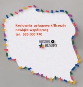 Krojownia Usługowa - Krojownia Brzeziny