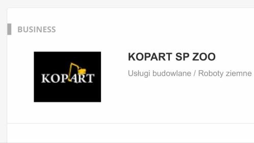 KOPART Sp ZOO - Firmy Biała Podlaska
