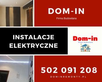 """Firma Budowlana """"Dom - In"""" - Elewacje Żywiec"""