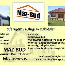 Maz Bud - Firma remontowa Toruń
