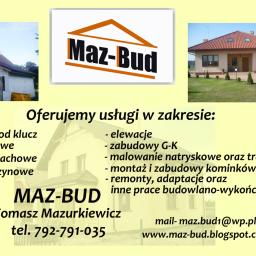 Maz Bud - Domy murowane Toruń