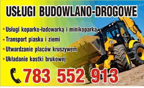 Usługi Budowlano-Drogowe - Ekipa budowlana Tomaszów Lubelski