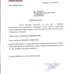 MD PROJEKT kompleksowe Usługi Inżynierskie Dariusz Śródecki - Rzeczoznawca budowlany Kostrzyn
