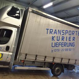 Dj transporte kurier lieferung - Transport międzynarodowy do 3,5t Uelzen
