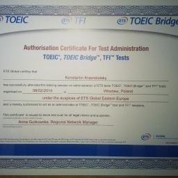 TOEIC administrator