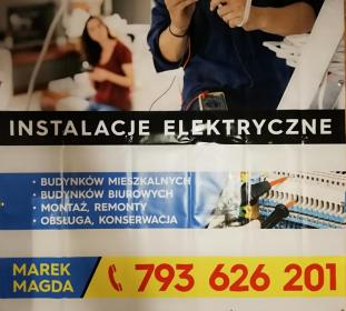 Usługi elektryczne Marek Magda - Projektant instalacji elektrycznych Janikowo