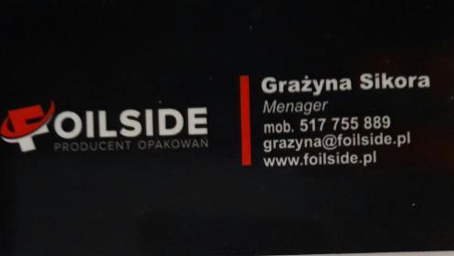Foilside - Opakowania przemysłowe Cieszyn