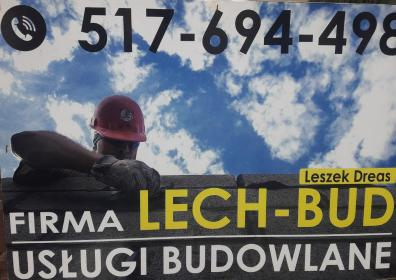 LECH-BUD Leszek Dreas - Układanie kostki brukowej Leszno