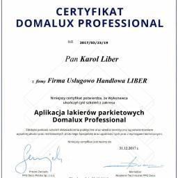 Firma Usługowo Handlowa LIBER - Cyklinowanie Chełmiec