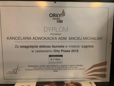 Kancelaria Adwokacka adw. Maciej Michalski - Adwokat Legnica
