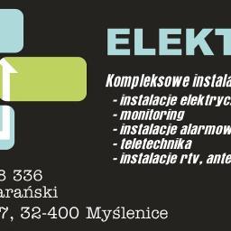 Elektryk usługi elektryczne Jarosław Barański - Anteny Satelitarne Polanka