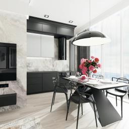 projekt apartamentu Hanza Tower w Szczecinie  marzec 2020  archdesign Agnieszka Romańczyk